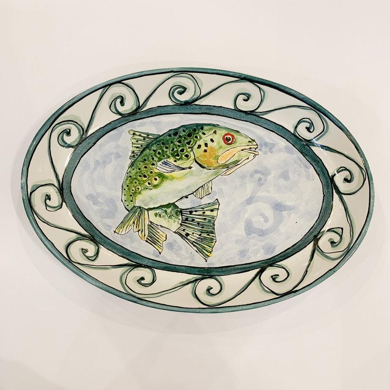 Steve Hasslock Steve Hasslock Fish Plate