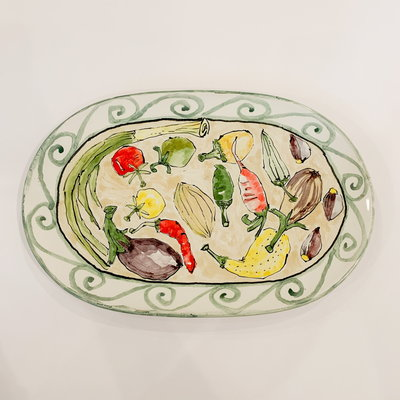 Steve Hasslock Steve Hasslock Vegetable Plate
