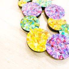 Cynthia Kolls Consignment Cynthia Kolls Carcanet Mardi Gras Beads