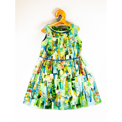 Cynthia Kolls Consignment Cynthia Kolls Green Dress CSMT