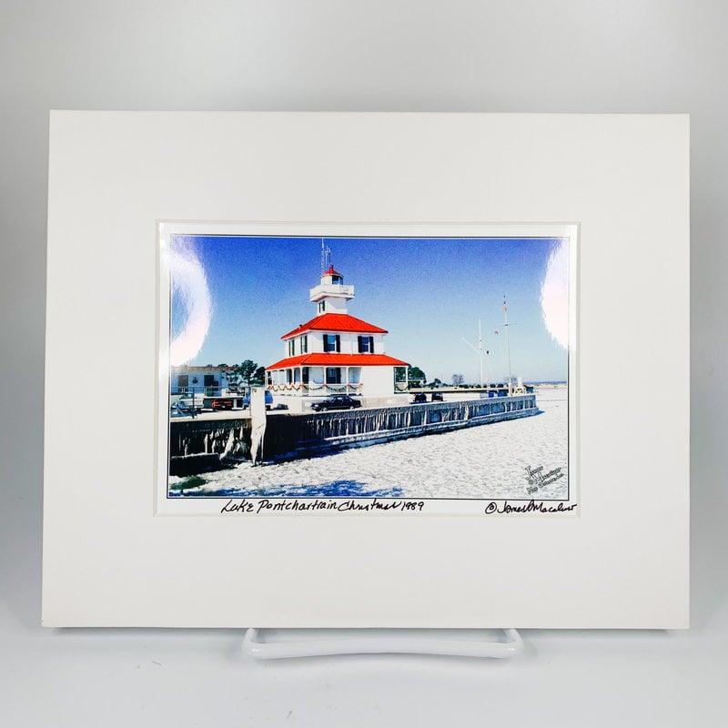 James Macaluso James Macaluso Lake Pontchartrain Christmas 1989