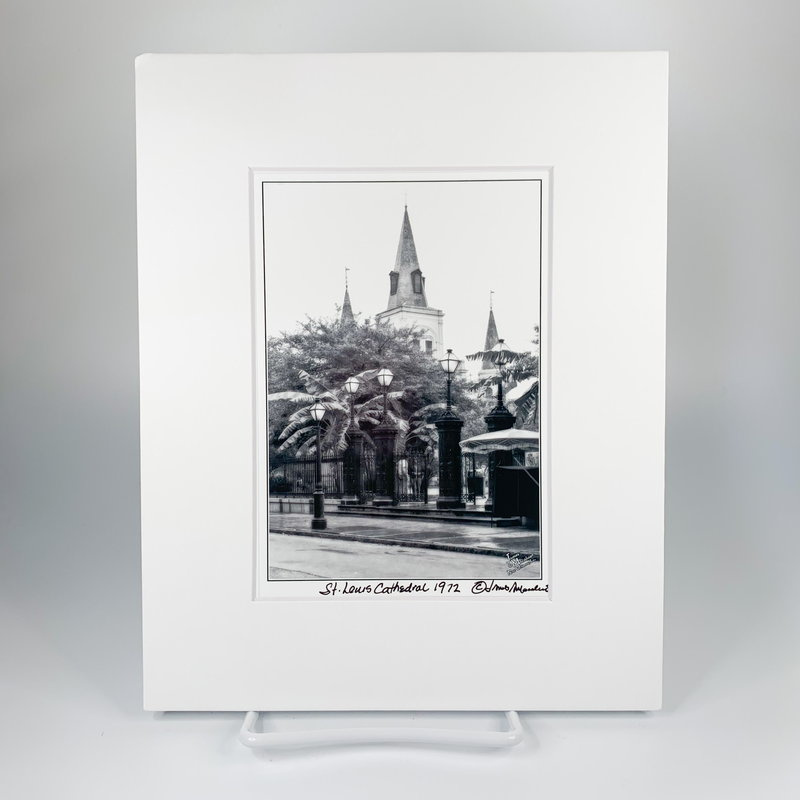 James Macaluso James Macaluso St. Louis Cathedral 1972