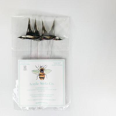 Acrylic Sticks Witch Hat Acrylic Stir Sticks