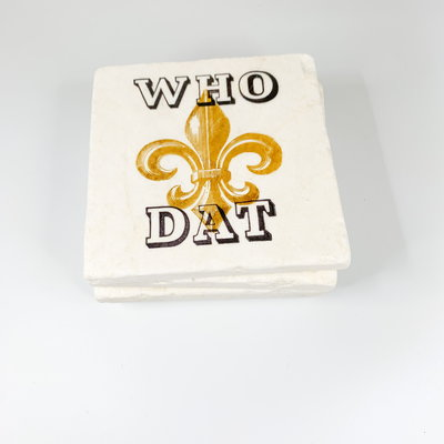 Gary Schiro Who Dat Coaster