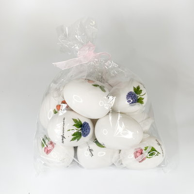 Raz 2.5'' Bag of Floral Eggs