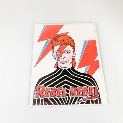 The Found David Bowie Rebel Rebel Happy Birthday