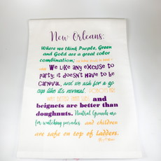 Monique Perry Monique Perry New Orleans Tea Towel
