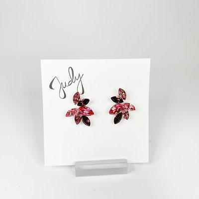 Preciosa Preciosa 224571 Pink Crystal Earrings