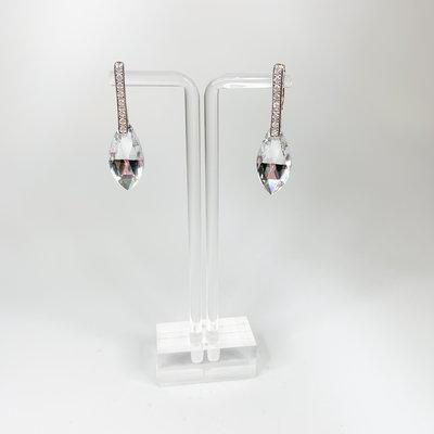 Preciosa Preciosa 6837 Feather Earring Crystal