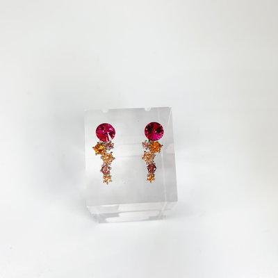 Preciosa Preciosa 6139 Aronie Earring Fuchsia