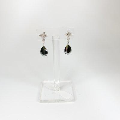 Preciosa Preciosa 2349 Colette Earring Hematite