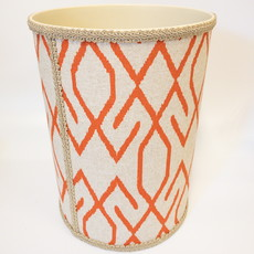 Jan Sevadjian Jan Sevadjian Aztec Coral Waste Basket
