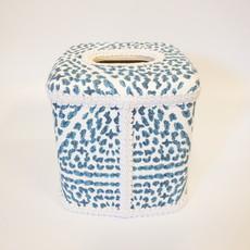 Jan Sevadjian Tissue Box Madrid Blue