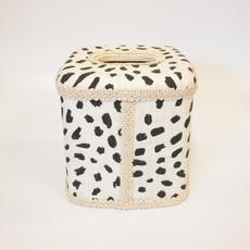 Jan Sevadjian Tissue Box Pebble Oyster