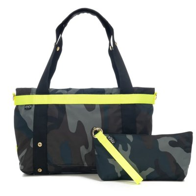 Andi The Andi Small Ink Camo Pop Yellow