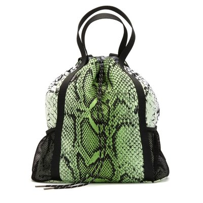 Andi Studio Backpack Chartreuse Snake