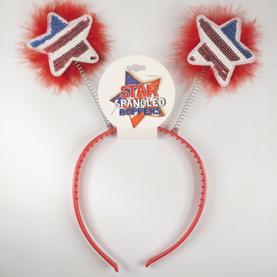 d&d distributing Fourth of July Headbopper- red