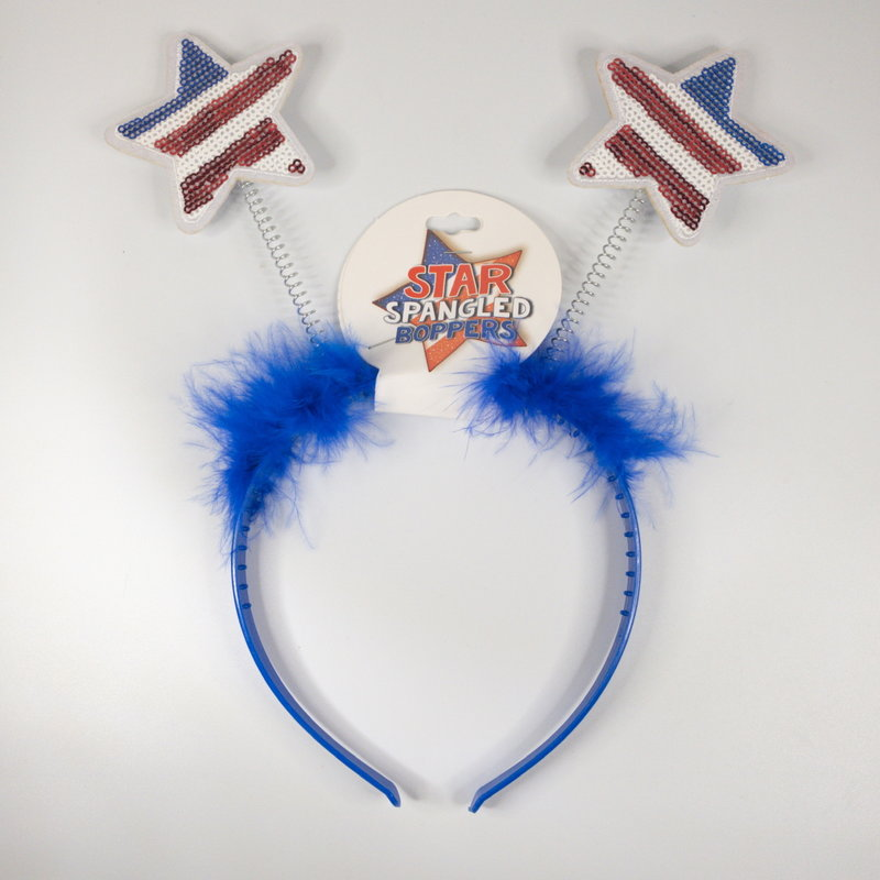 d&d distributing Fourth of July Headbopper- blue
