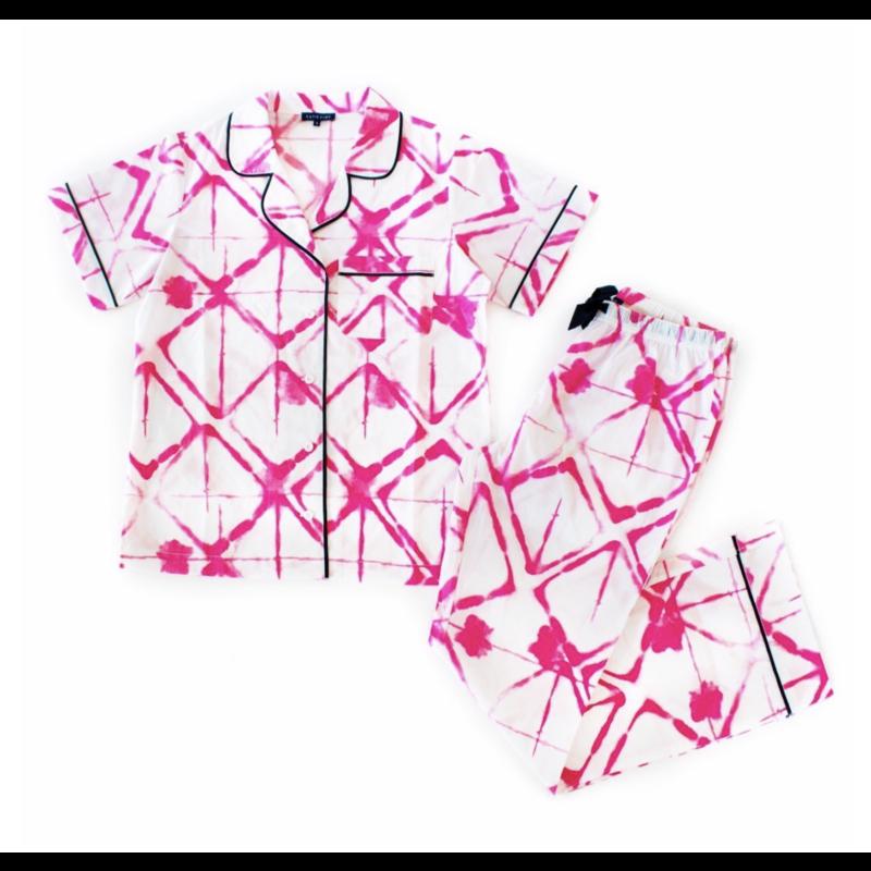 Katie Kime Strata Long Pant Pajama Set L