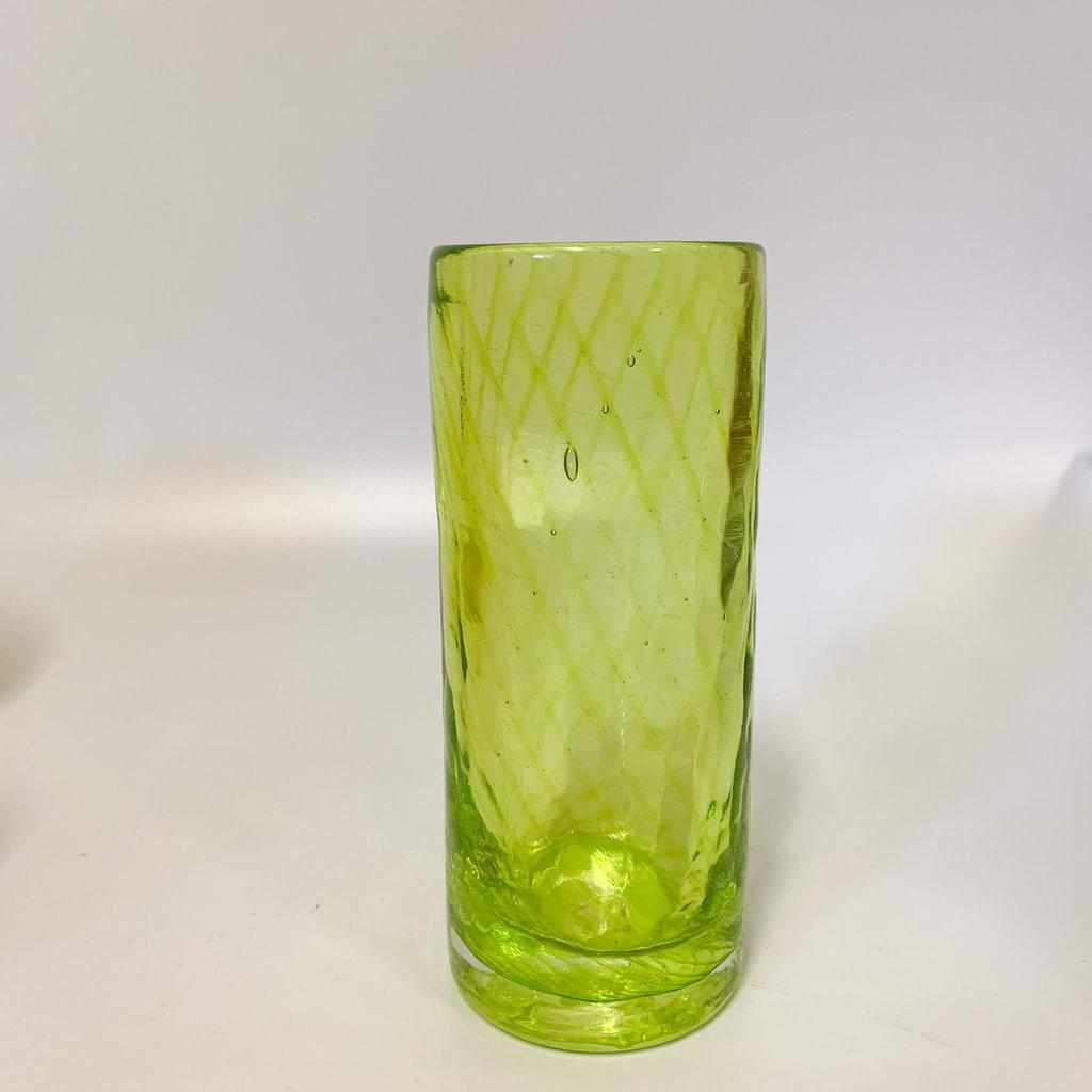Ridge Walker Glass Ridge Walker Glass w/o foot- lime green