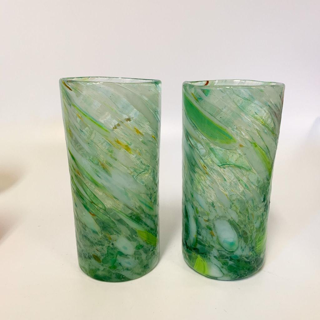 Ridge Walker Glass Ridge Walker Glass w/o foot- swampy mint