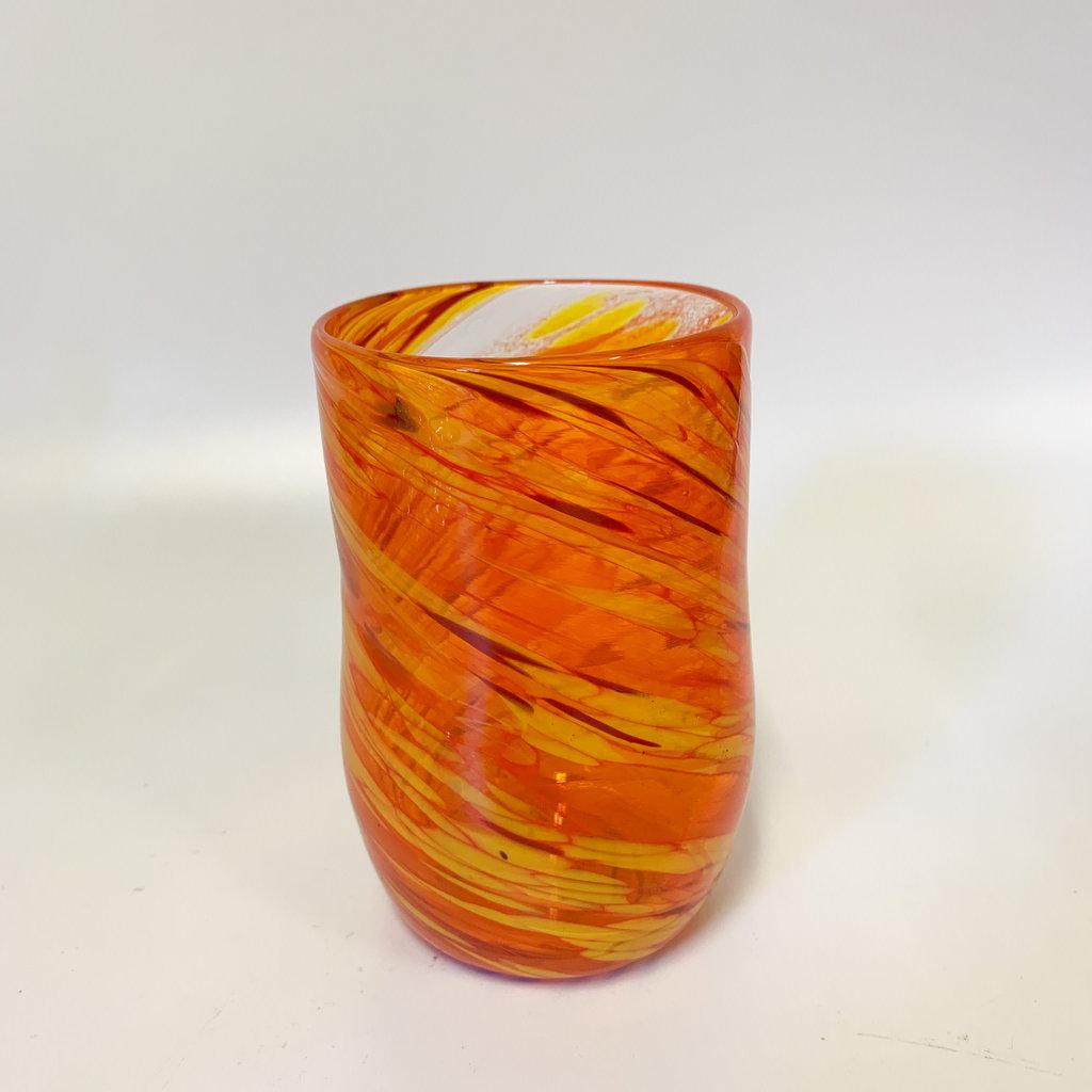 Ridge Walker Glass Ridge Walker Glass w/o foot- orange