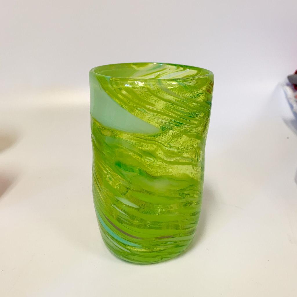 Ridge Walker Glass Ridge Walker Glass w/o foot- pale green