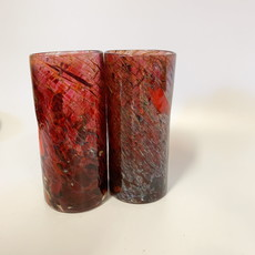 Ridge Walker Glass Ridge Walker Glass w/o foot- speckled red-2