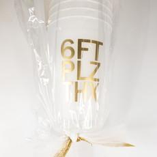 Elle Paperie 6FT PLS THX Frost Flex Cups- 14oz