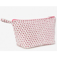 Roller Rabbit Heart Make Up Bag