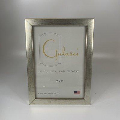 Galassi Thin Flat Silver 5x7