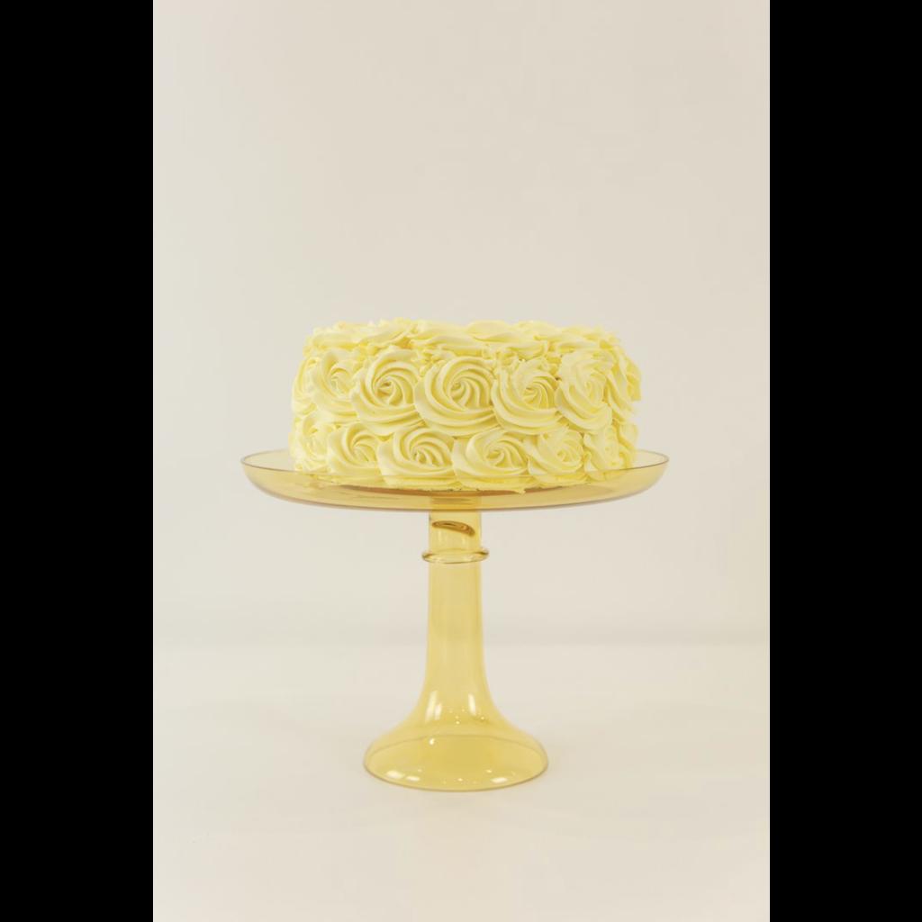 Estelle Estelle Cake Stand Yellow