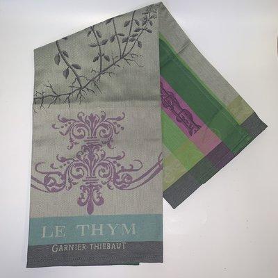 Garnier Thiebaut Garnier Thiebaut Brin De Thym Vert Kitchen Towel