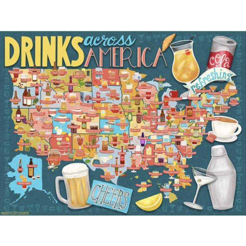 True South Puzzles True South Puzzles Drinks Across America