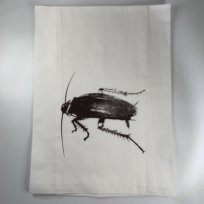 Monique Perry La Cucaracha Tea Towel