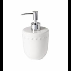 Casafina Soap/ Lotion Pump- Bath Pearl White