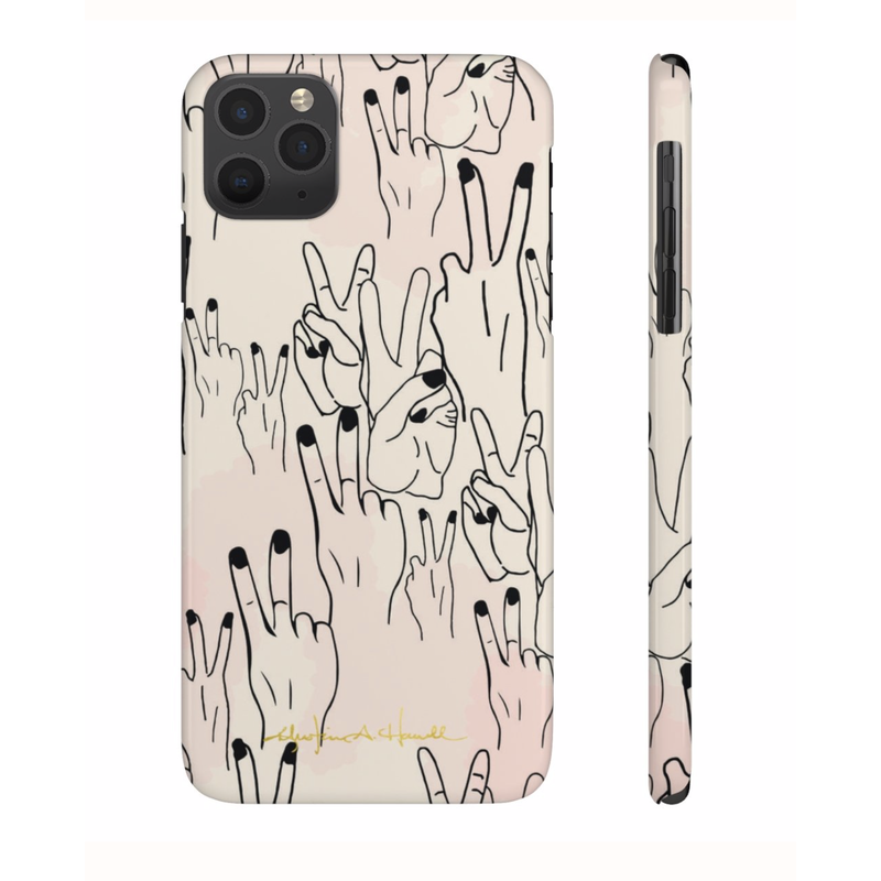 Khristian A. Howell Deuces Sleek and Chic iPhone 11 Case