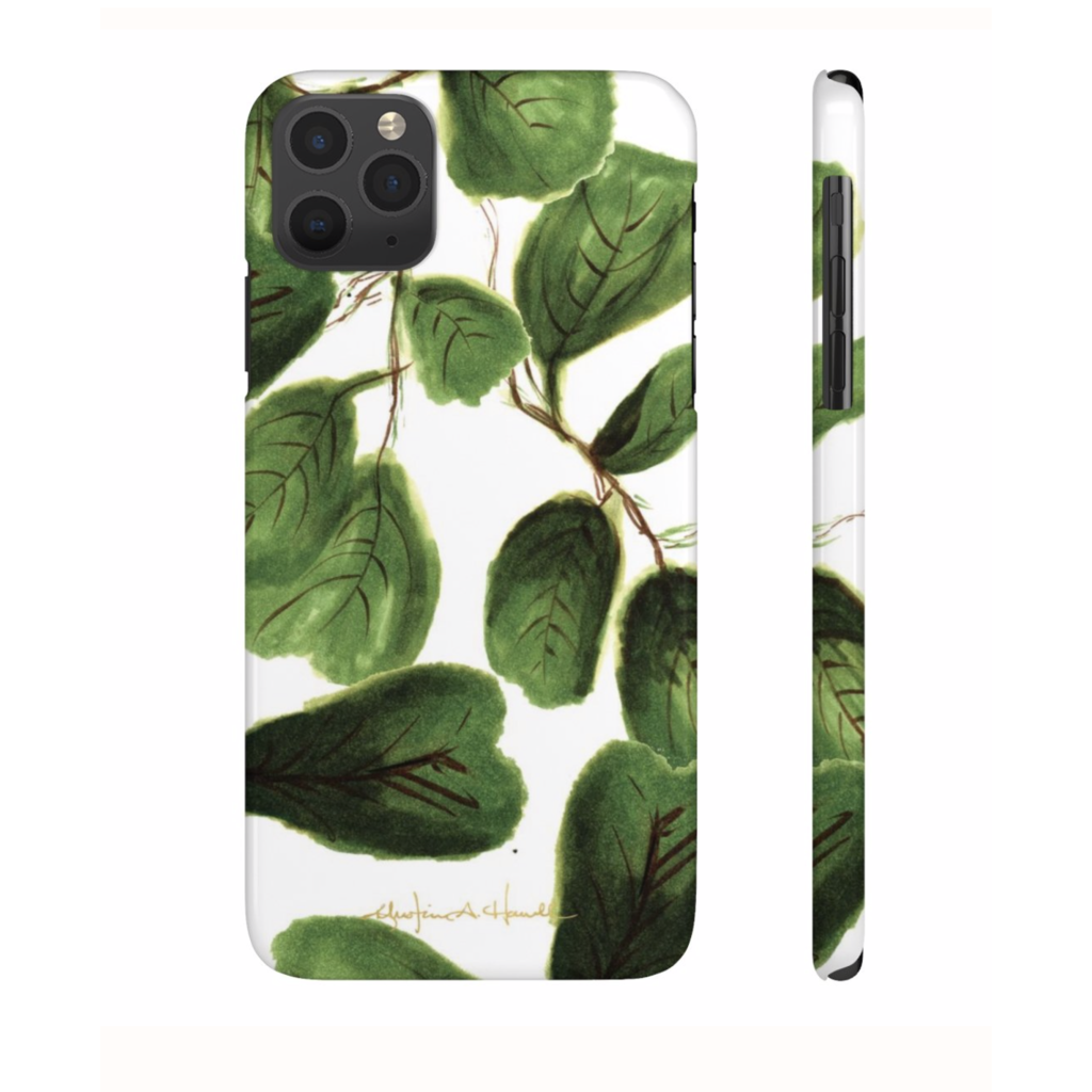 Khristian A. Howell Fig Life Sleek and Chic iPhone 11 Case