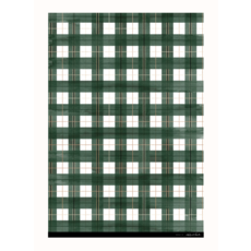 Khristian A. Howell Buffalo Plaid Gift Wrap- Evergreen