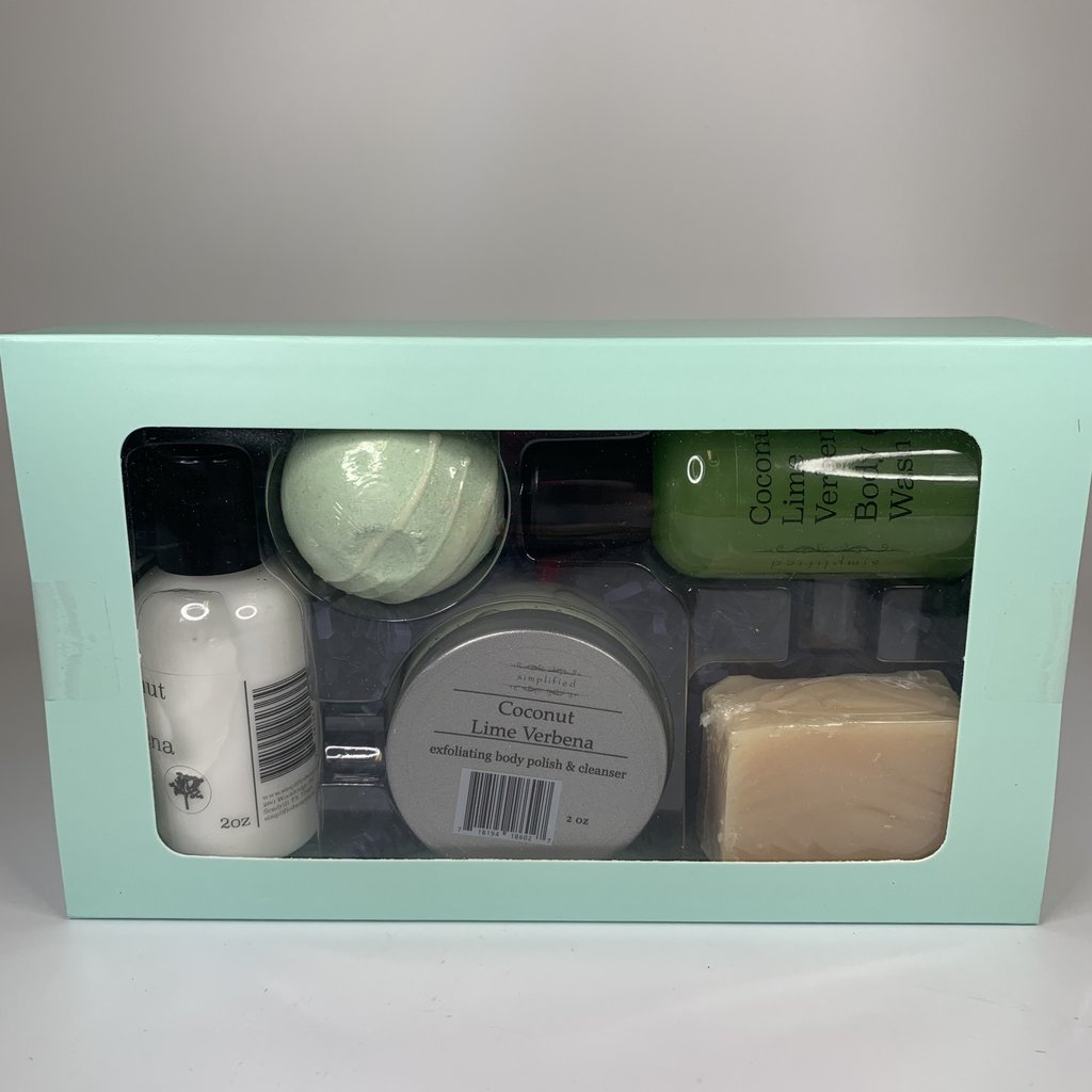 Simplified 5 pc Sample Set- Coconut Lime Verbena