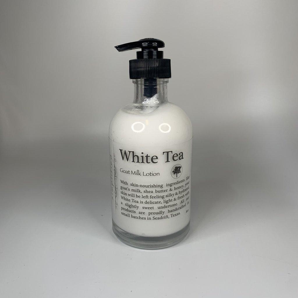 Simplified White Tea Lotion (8 oz)