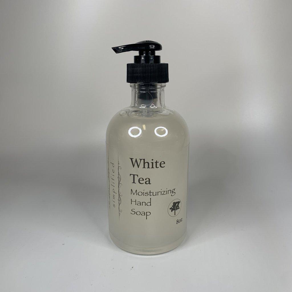 Simplified 8 oz Hand Soap- White Tea