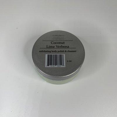 Simplified 2 oz Body Polish- Coconut Lime Verbena