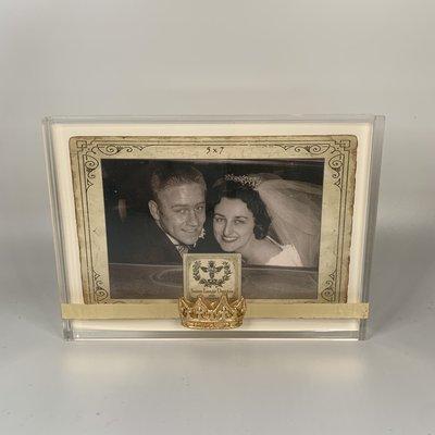 Susan Lange Acrylic Pointed Crown Frame 5x7