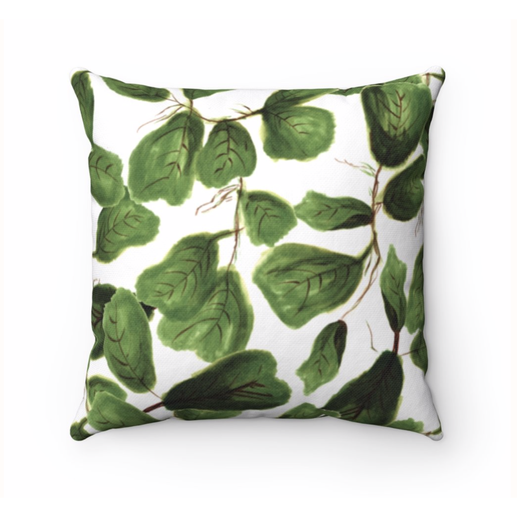 Khristian A. Howell Fig Life Throw Pillow 18x18
