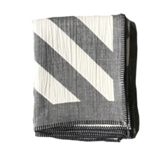 Johanna Howard Home Lagom Throw (Pewter 100% Cotton)