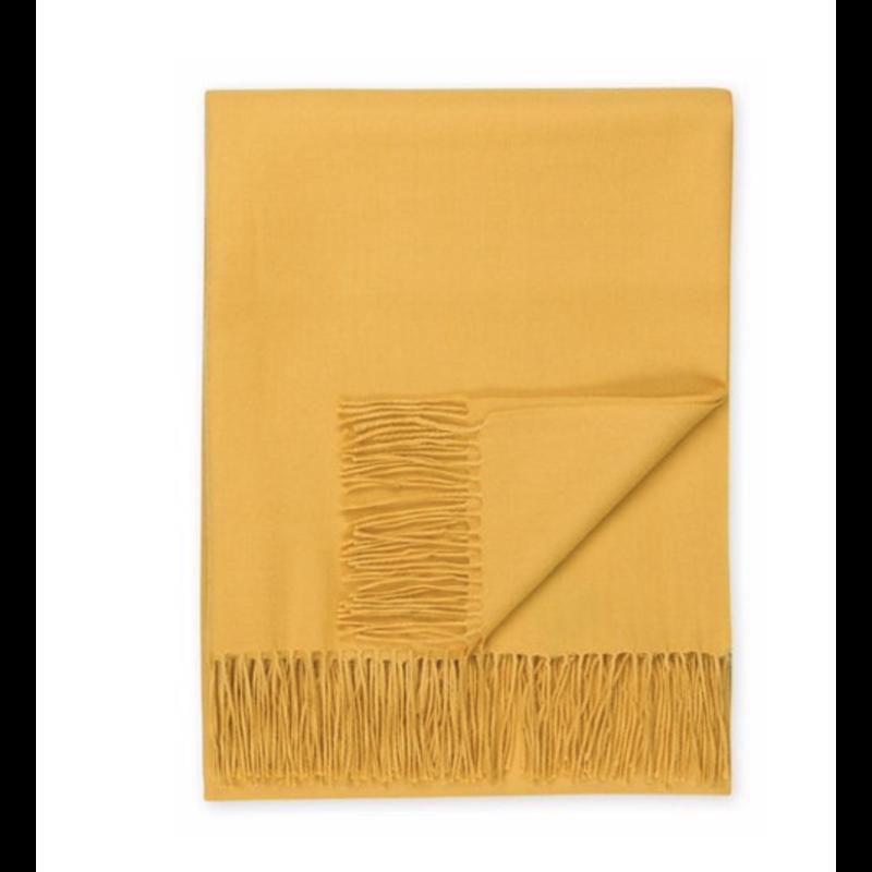Johanna Howard Home Madison Throw (Golden Yellow)