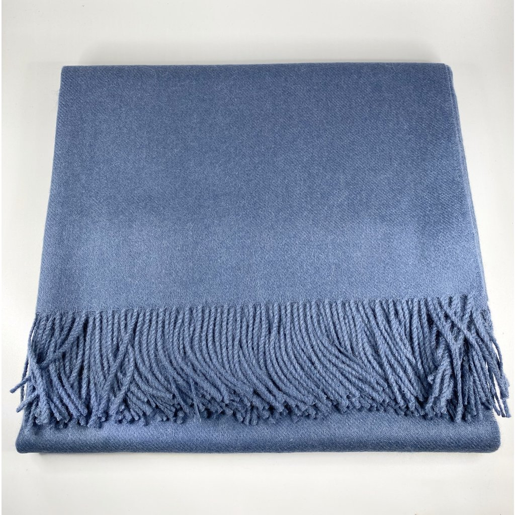 Johanna Howard Home Madison Throw (Classic Slate Blue)