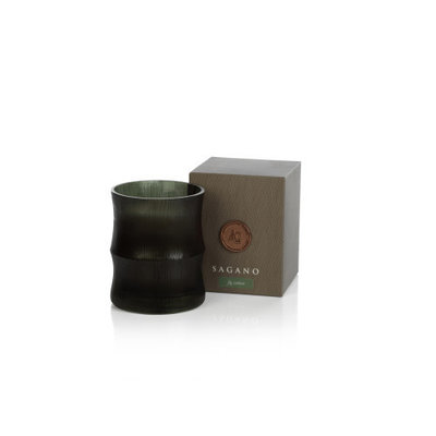 Zodax SAGANO CANDLE JAR - GREEN / FIG VETIVER