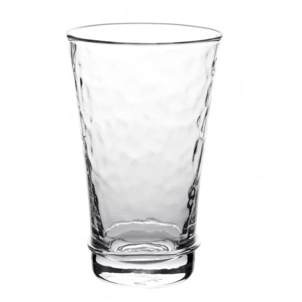 Juliska Large Tumbler Carine Clear 6''H